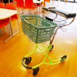 従来の歩行器にはない流線型のスタイリッシュなデザイン。お買い物や歩きたい意欲を引き出します。